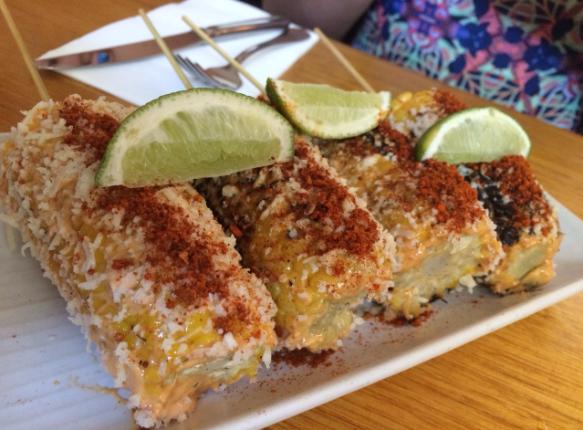 Mamasita - Chargrilled corn