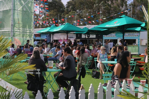 Royal Croquet Club Melbourne 2015 - Fun in the sun